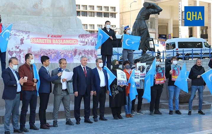 """""""We call on all humanity to stop the Chinese persecution"""""""