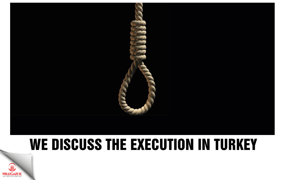 We discuss the execution in Turkey