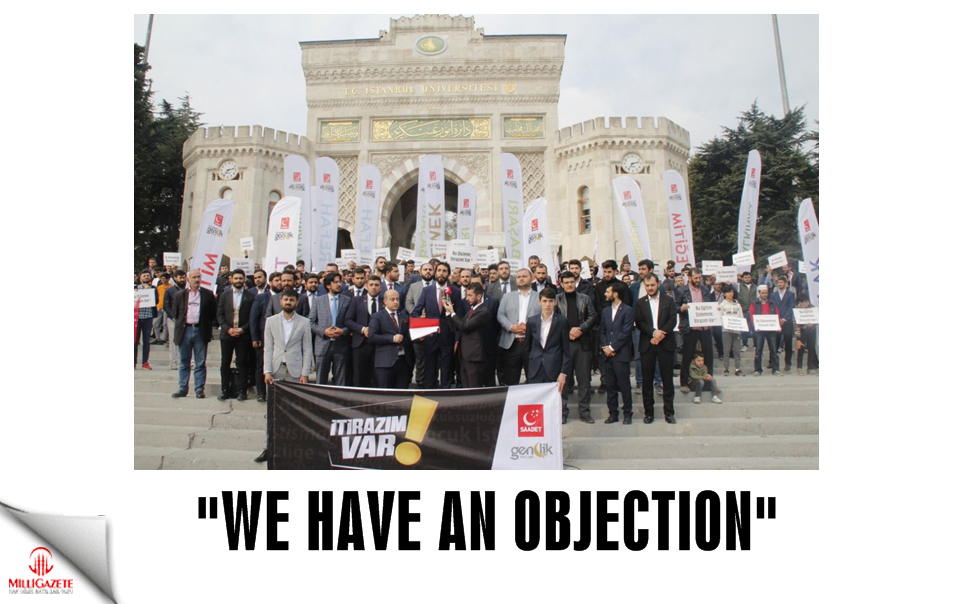 """We have an objection"""
