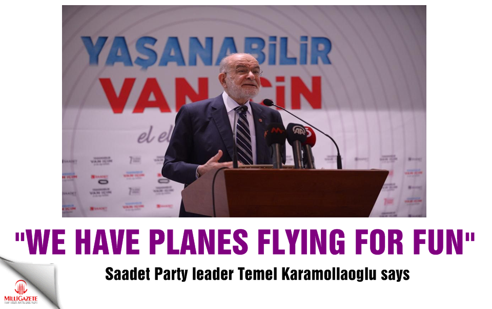 """""""We have planes flying for fun!"""""""
