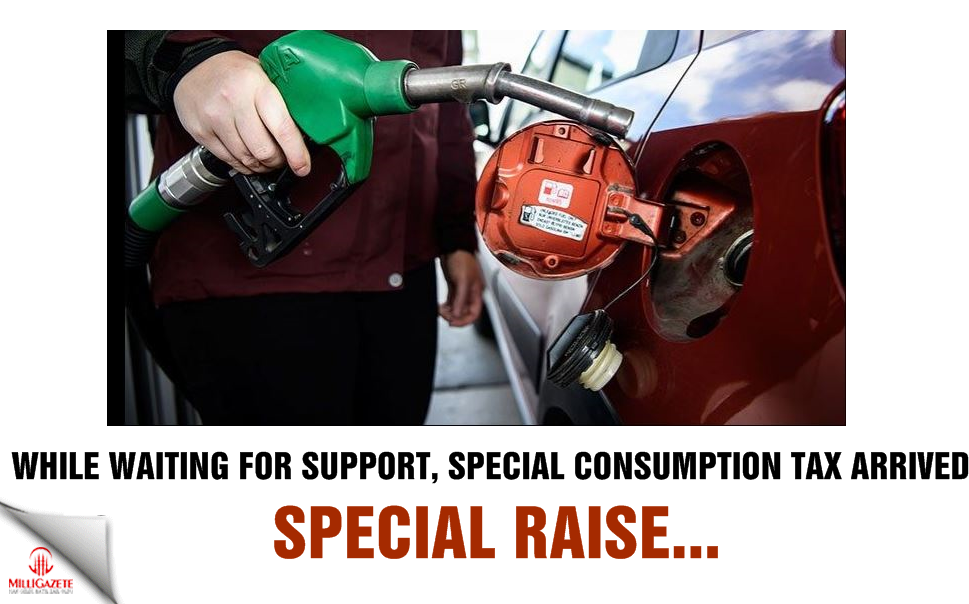 While waiting for support, Special Consumption Tax hike arrived! Special raise