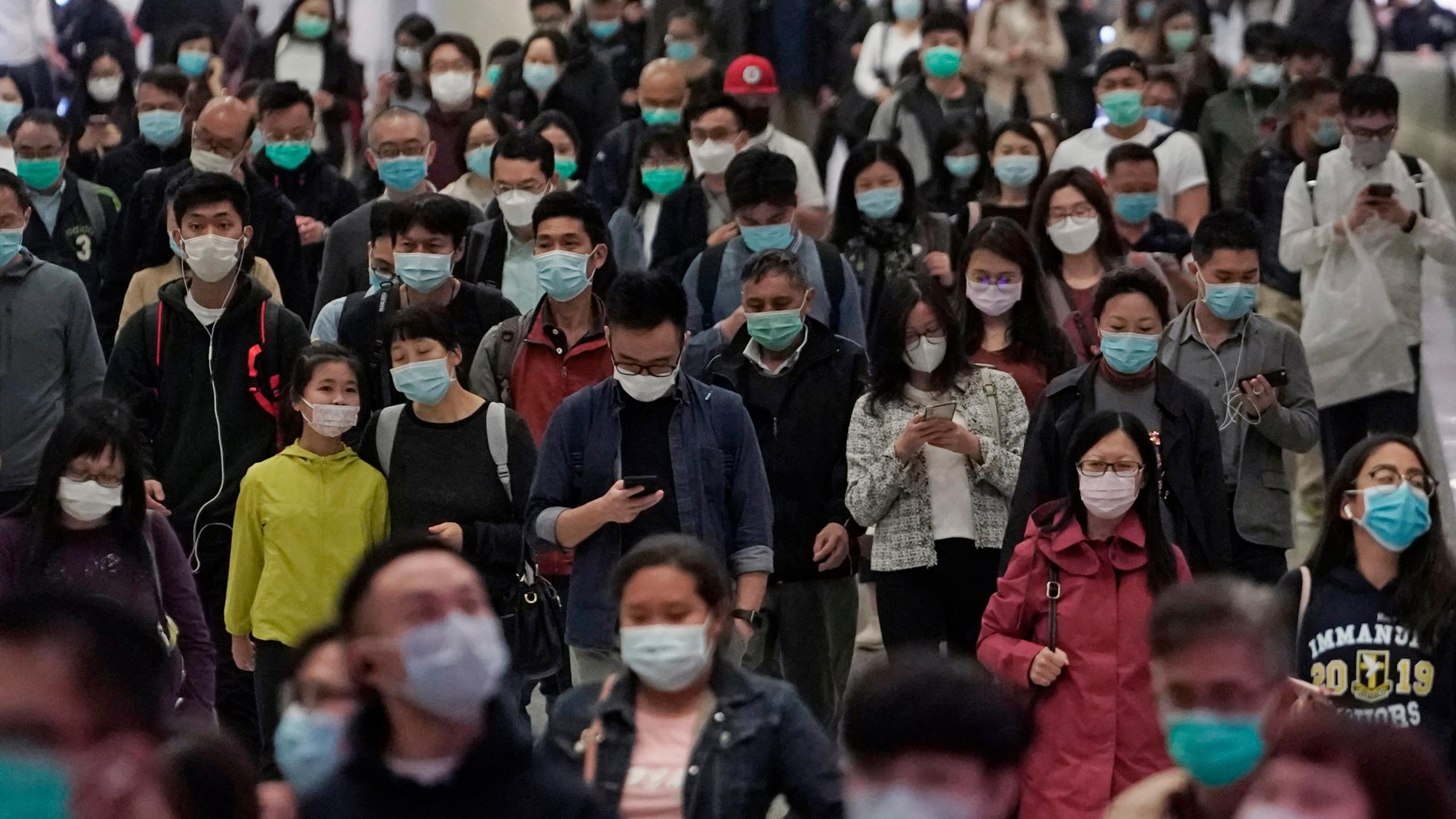 WHO declares coronavirus crisis a pandemic