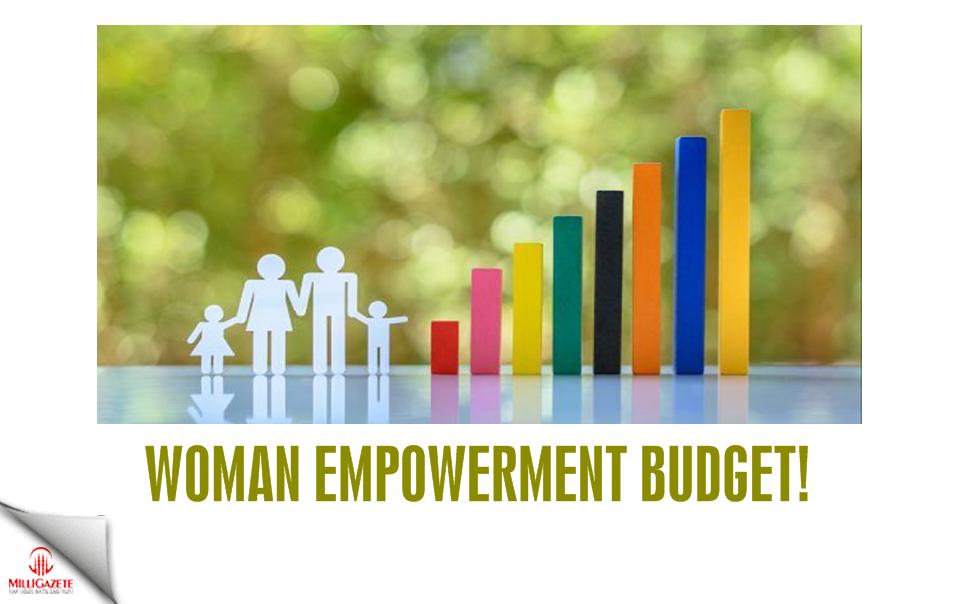 Woman empowerment budget!