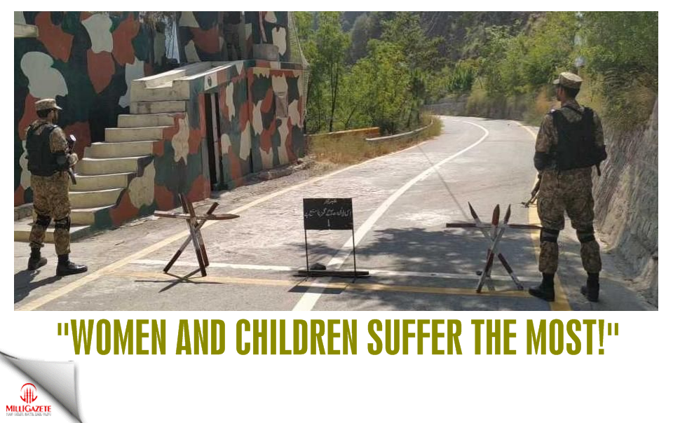 """Women and children suffer the most!"""