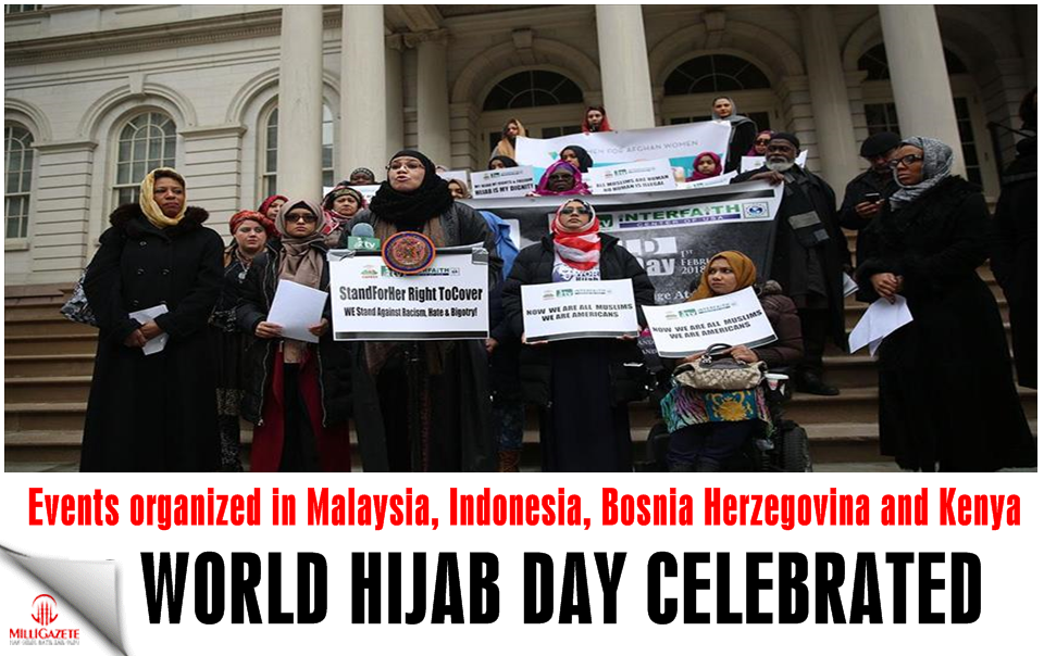 World Hijab Day celebrated