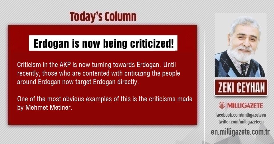 "Zeki Ceyhan: ""Erdogan is now being criticized!"""