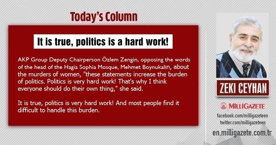 """Zeki Ceyhan: """"It is true, politics is a hard work!"""""""