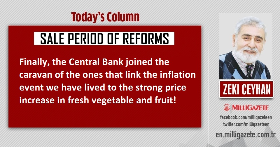 """Zeki Ceyhan: """"Sale period of reforms"""