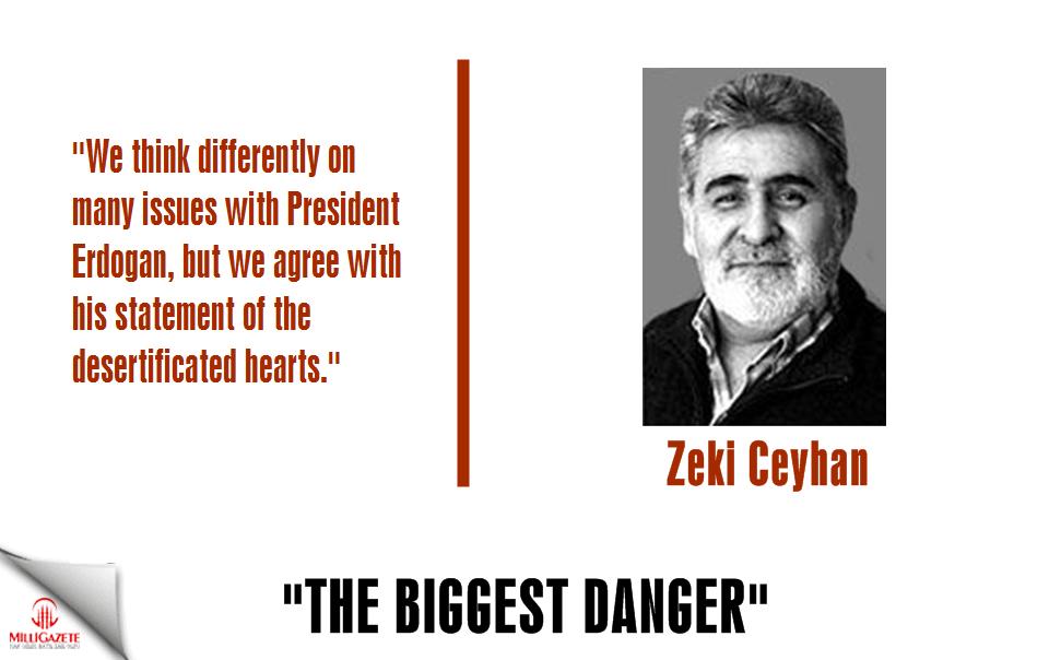 "Zeki Ceyhan: ""The biggest danger"""