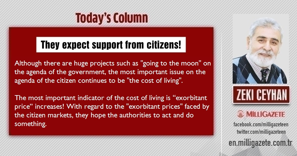 """Zeki Ceyhan: """"They expect support from citizens!"""""""