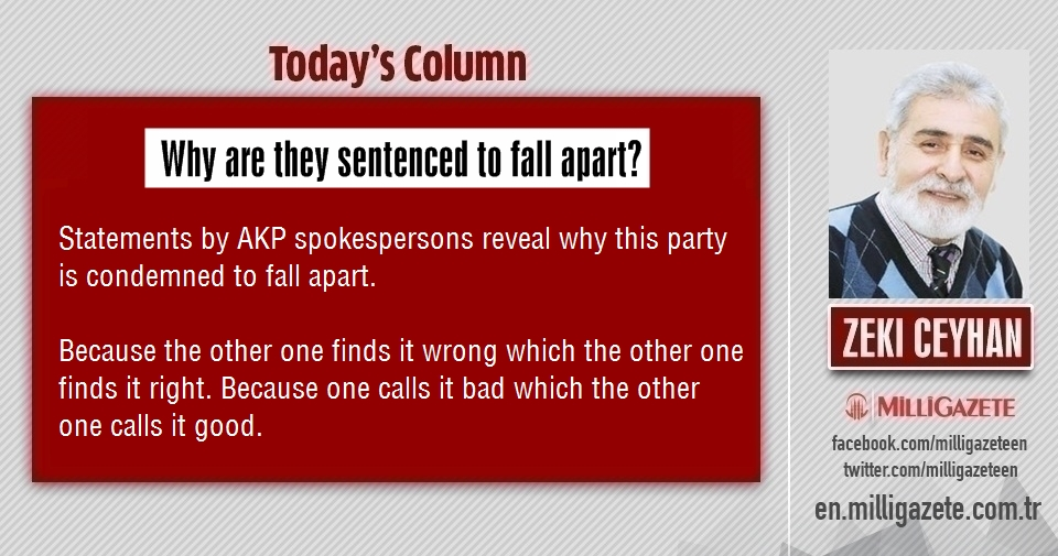 """Zeki Ceyhan: """"Why are they sentenced to fall apart"""""""