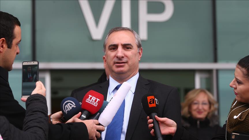 Zionist Israel's new ambassador arrives in Turkey