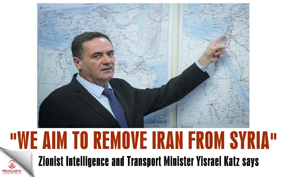 "Zionist minister: ""We aim to remove Iran from Syria"""